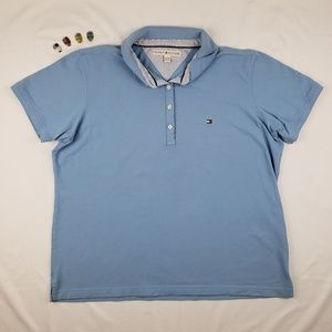 Tommy Hilfiger Men's XL Light Blue Polo